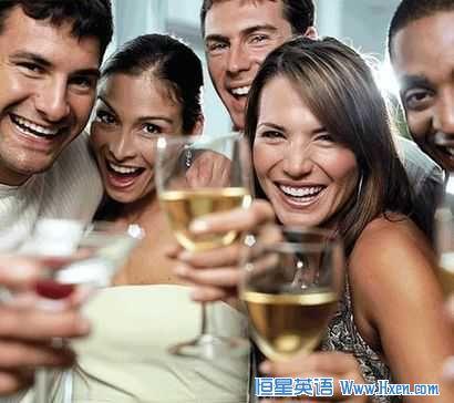跟喝酒有关的常用口语表达