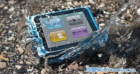 纳米防水涂层技术 让手机实现水下通话