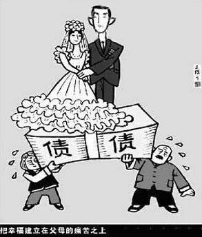 2015考研英语看图作文范例点评 父母重负下的婚礼