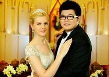 潮流英语口语1000句 Unit 32:婚姻也跨国(mp3+lrc)