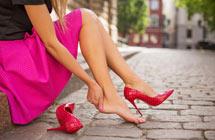 穿高跟鞋不伤脚的六个技巧