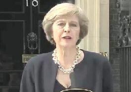 特蕾莎梅接任英国首相公开演讲全文