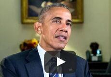 美国总统奥巴马每周电台演讲:让各个家庭获得带薪病假