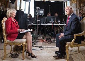 总统川普首次携全家上深度访谈