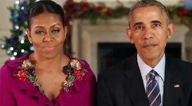 美国总统奥巴马每周电台演讲:奥巴马夫妇的圣诞祝福
