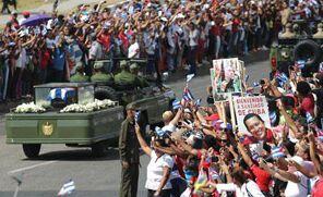 国际英语新闻:Fidel Castro's ashes arrive at final stop in Santiago de Cuba