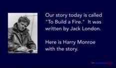 VOA慢速英语:杰克・伦敦《生火》
