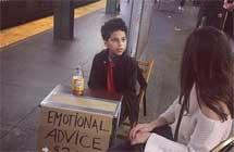 纽约地铁惊现11岁情感治疗师