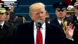 美国总统特朗普就职典礼演讲