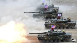 VOA常速英语:U.S. Will Defend Against North Korean Threat