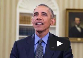 美国总统奥巴马每周电台演讲:很荣幸成为为你们服务的总统