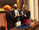 VOA常速英语:首位美籍索马里人立法者于明尼苏达州就职