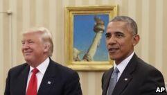 VOA慢速英语:Obama Leaves Healthy US Economy to Trump