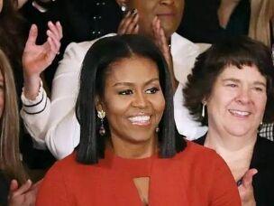 米歇尔·奥巴马白宫最后一次演讲