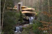 VOA常速英语:流水别墅:建筑技艺与自然和谐共生