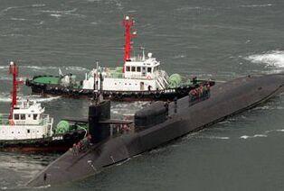 国际英语新闻:U.S. nuke-powered submarine arrives in S. Korea amid tensions