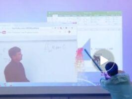 愚人节外国数学老师课堂上的恶搞