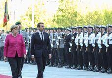 BBC在线收听下载:法国总统马克龙会晤德国总理默克尔