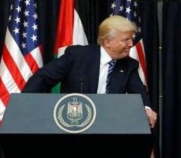 英语访谈节目:特朗普对以色列和巴勒斯坦可达成协议表示乐观