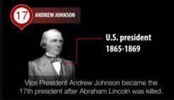 VOA慢速英语:Andrew Johnson: Impeached