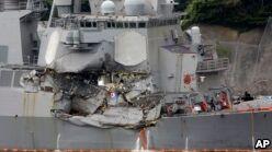 VOA慢速英语:US Navy Destroyer Crash: How Could it Happen?
