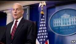 VOA慢速英语:Trump Names John Kelly as New White House Chief of Staff
