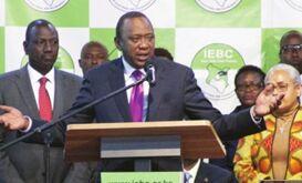 肯尼亚现总统肯雅塔赢得连任