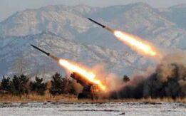 朝鲜发射了三枚短程弹道导弹