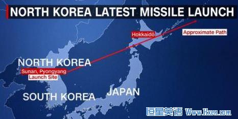英语访谈节目:朝鲜发射导弹飞过日本上空