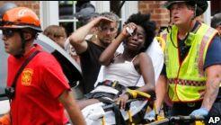 """VOA慢速英语:特朗普称种族主义仇恨团体为""""恶魔"""""""