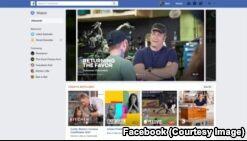 VOA慢速英语:Facebook提供新的视频服务
