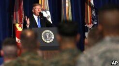 VOA慢速英语:特朗普宣布对阿富汗的新计划
