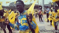 安哥拉历史性的投票选举