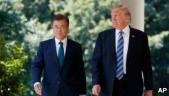 VOA慢速英语:即使制裁 韩国仍计划向朝鲜提供援助
