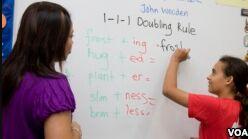 VOA慢速英语:有学习障碍的学生可学习新语言