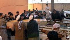 VOA慢速英语:联合国:伊斯兰国活动扩展到阿富汗七个省