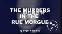 VOA慢速英语:埃德加・爱伦・坡的《莫尔格街凶杀案》Part Two