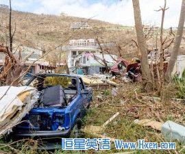 英语访谈节目:厄玛飓风肆虐维京群岛