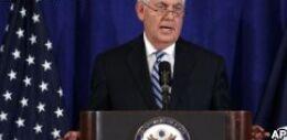 VOA常速英语:Tillerson on Defending the Democratic Ideal