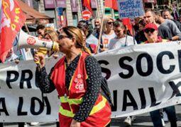 BBC在线收听下载:法国工会呼吁罢工反对马克龙的改革计划