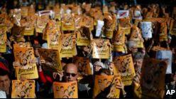 VOA慢速英语:加泰罗尼亚独立运动引发比利时紧张局势