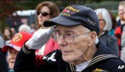 VOA慢速英语:美国庆祝退伍军人节