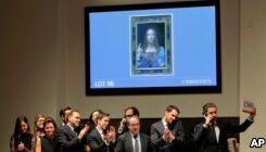 VOA慢速英语:达芬奇画作《救世主》以创纪录的4.5亿美元拍出