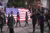 VOA常速英语:South Koreans Welcome Trump to Seoul