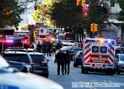 英语访谈节目:纽约爆发一起独狼式卡车袭击 嫌犯被捕