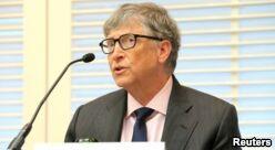 VOA慢速英语:比尔盖茨出资1亿美元对抗老年痴呆症