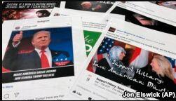 VOA慢速英语:俄罗斯干预美国大选 社交媒体背锅