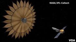VOA慢速英语:折纸空间技术结合了艺术、设计、科学