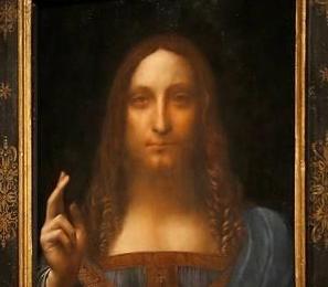 英语访谈节目:达芬奇名画《救世主》预计拍出1亿美元的高价