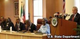 VOA常速英语:Partnering with Nigeria